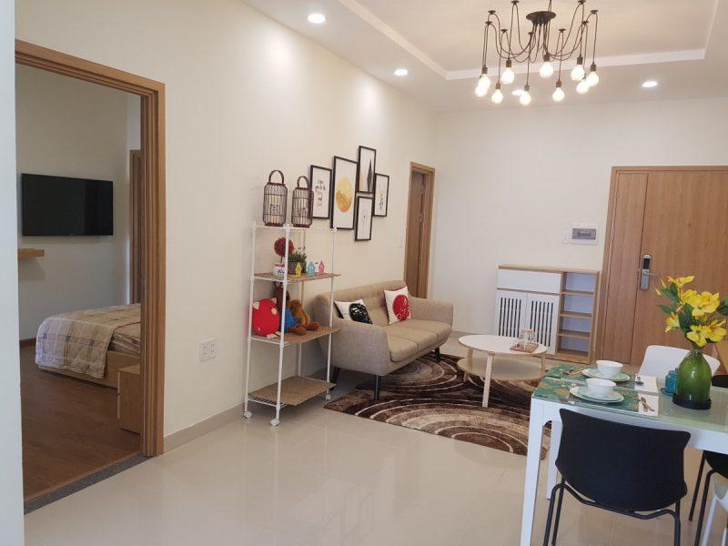 Nhà mẫu dự án căn hộ Stown Phúc An tỉnh Bình Dương STC Group