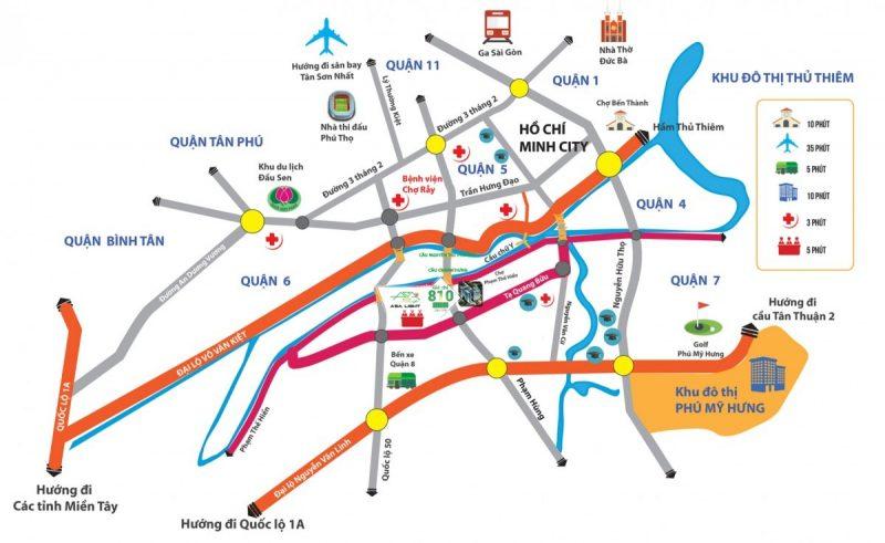 giao thông quận 8 tphcm