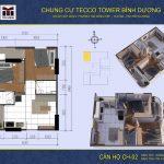 mat bang can ho CH02 Tecco Tower Binh Duong