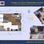 mat bang can ho CH06 Tecco Tower Binh Duong