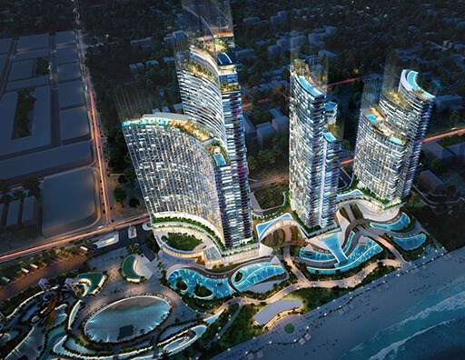 Vị trí trung tâm thành phố Phan Rang - Tháp Chàm Bình Sơn