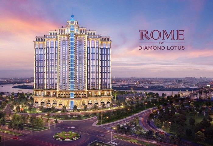 du an can ho Rome by Diamond Lotus quan 2