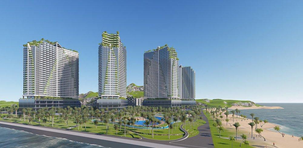 Phối cảnh dự án Sailing Bay Ninh Thuận