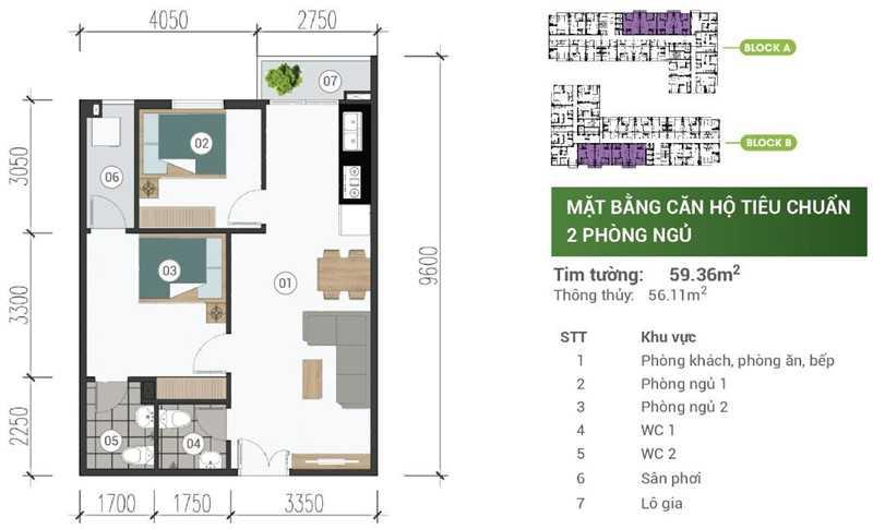 mat-bang-can-ho-park-view-binh-duong-2PN-59m2