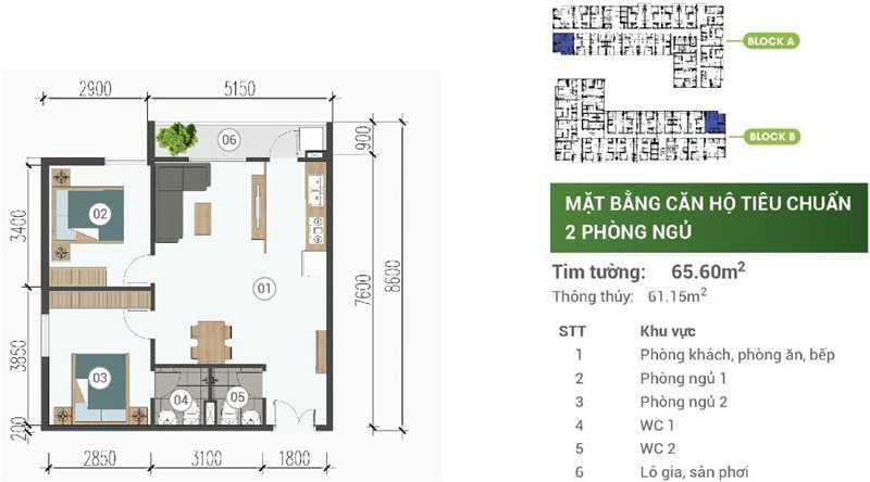 mat-bang-can-ho-park-view-binh-duong-2PN-65m2