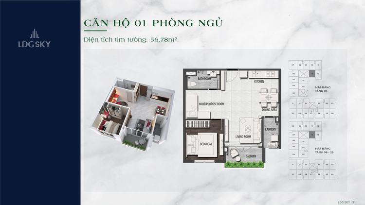 layout-thiet-ke-can-ho-1-phong-ngu-56m2-du-an-ldg-sky-di-an-binh-duong